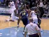 NBA Carlos Boozer blocks a shot away from danger during the