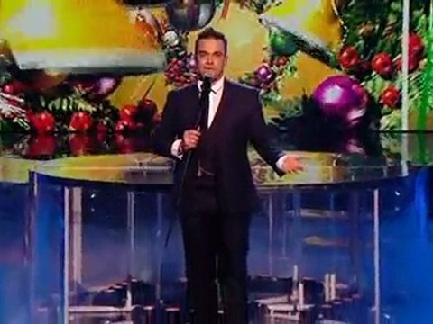 Robbie williams @ You Know Me (X Factor - 12.12.09)