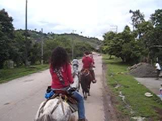 Reiten in San Agustín