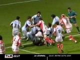 Rugby Top 14 : défaite de Bourgoin face à Biarritz