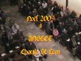 Chants de Noël 2009. Chorale St Léon d'Anglet.