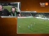 Studio des supporters St-Etienne / Marseille