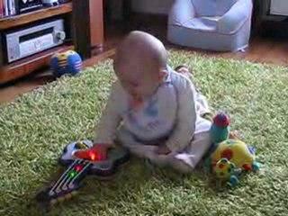 Je fais de la guitare comme papa