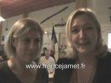 Régionales 2010 : Marine LE PEN soutient France JAMET (FN)