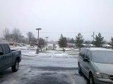 Snowing Jan. 6, 2010 in Columbia