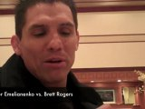 Frank Shamrock gives us his predictions for Fedor vs Rogers