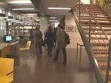 Visite de la bibliothèque universitaire Jean Dausset