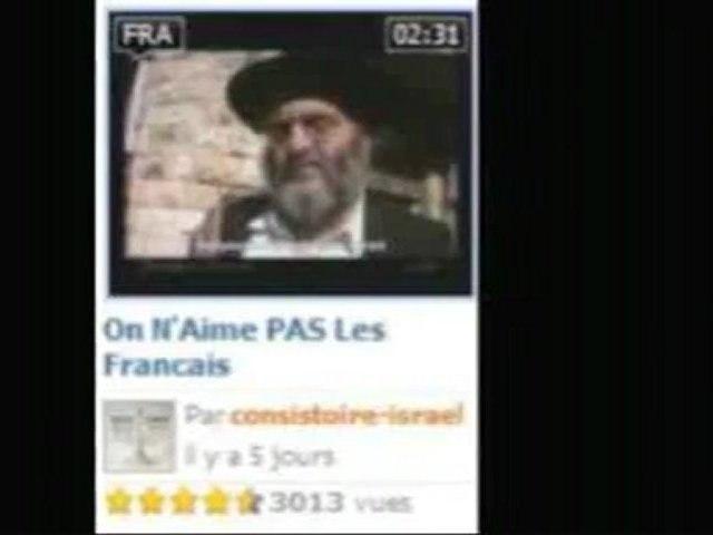 Les manipulateurs du net  On n'aime pas les francais
