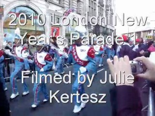 New Year Parade 2010 London - Mix1