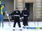 The Swedish National Anthem - Stockholm Royal Palace 2010