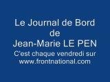 Emissions FN : Le Journal de Bord de Jean-Marie LE PEN n°173