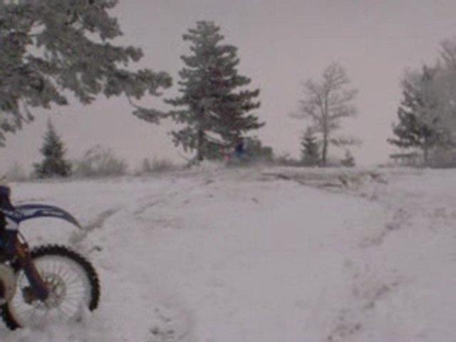 Enduro neige gasgas, husqvarna, beaujolais