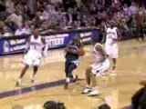 NBA Gerald Wallace sends O.J. Mayo's layup attempt in the op