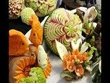 CEFOR : Sculptures sur fruits et légumes