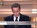 Discours de Nicolas Sarkozy aux Obsèques de Philippe Séguin
