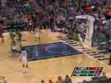 Hedo Turkoglu tosses a perfect alley-oop from his waist to D