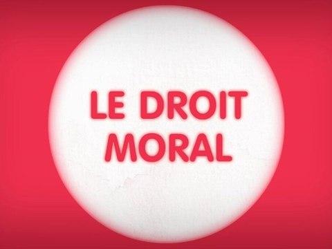 Qu'est-ce que le droit moral ?