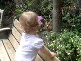 Lily-Joyce au jardin botanique!
