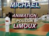 JUDO Animation poussins LIMOUX MICHAEL