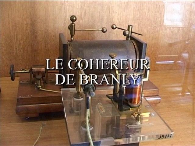 Le cohéreur de Branly - Le petit théâtre du musée
