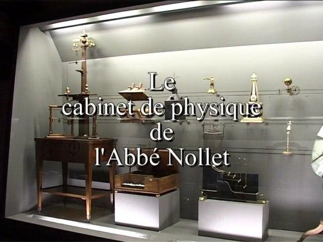 Le cabinet de physique - Petit Théâtre du musée