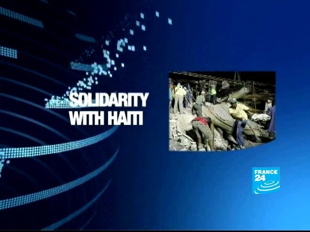 Solidarity with Haiti on the net