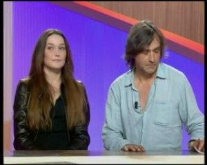 JL Murat  Carla Bruni   Le Grand Journal  (2/2)