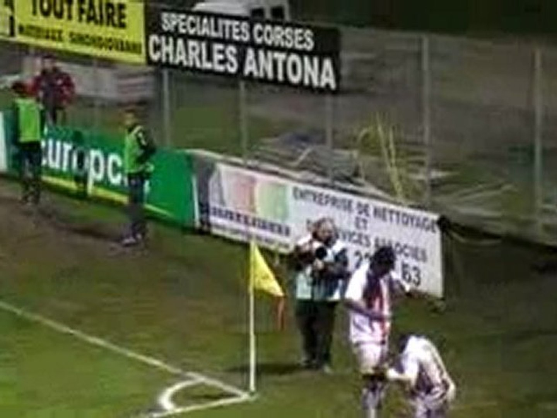 But de Kinkela - AC Ajaccio-AC Arles-Avignon