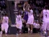 Gerald Wallace blocks a shot off the backboard during the th