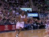 Ronnie Price hits Ronnie Brewer with an alley-oop pass for a