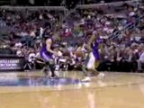 Earl Boykins gets his defender into the air and drains the f