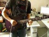 crying joe satriani guitare cover