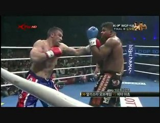 Peter Aerts vs Alistair Overeem (K1 Final )26-09-2009 part.1