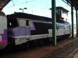 Les CC 72064 et 72074 en attente de départ à Lyon-Perrache