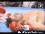 Peter Aerts VS  Andy Hug -K1 Grand Prix 98 kickboxing