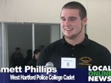 West Hartford Police Host College Police Academy