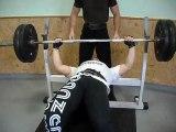bench press 107.5 kg developpe couche