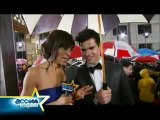 2010 Golden Globes - On The Red Carpet With Taylor Lautner!