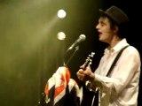 Peter Doherty à la Flèche d'Or à Paris le 18/01/2010