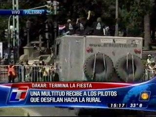 Una multitud despidió el Dakar - TN.com.ar