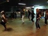 Cours de danse africaine avec BIJOU18 Janvier 2010 3em