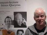 Concert-lecture des frères Queyras au Mejean