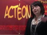 Présentation de l'action d'Acteon, école d'acteurs