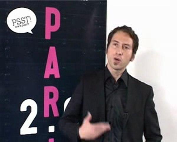 PSST TV: S. Donic-Directeur conseil de SQLI Agency-PARIS 2.0