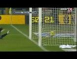Juventus 1 - 2 Roma (23/01/2010): le but de Del Piero