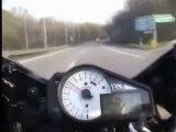 Chute de moto