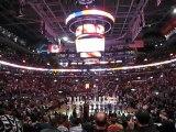 Raptors vs Lakers - Hymne Canadien