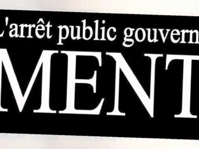 L'arrêt public gouverne, ment
