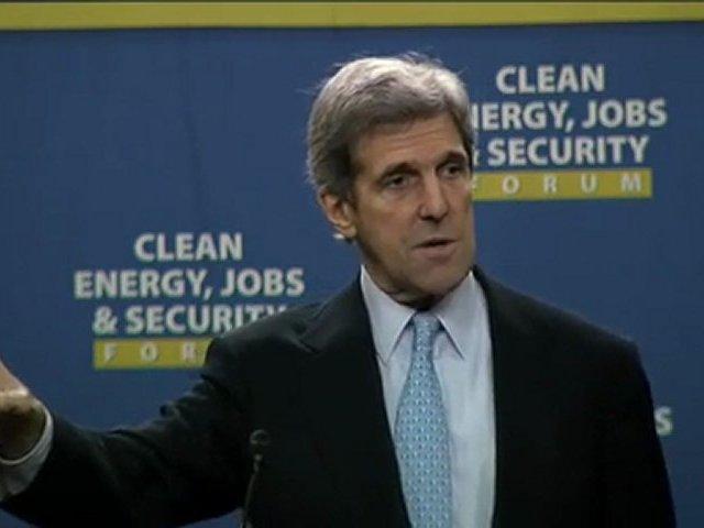 John Kerry Speaks at the Clean Energy Jobs Forum