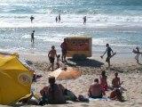 A la plage à Biscarrosse dans les Landes